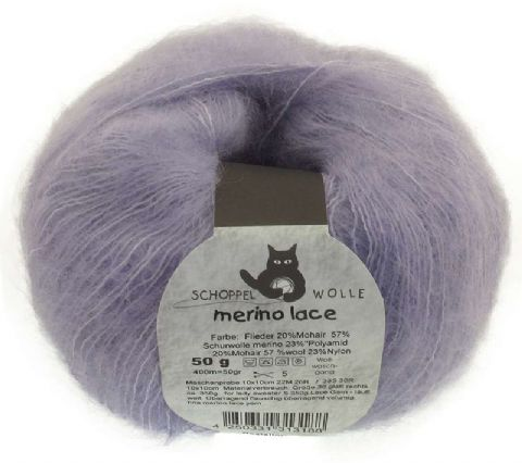 Schoppel-Wolle MERINO LACE 3543 lilac